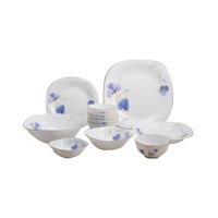 Bộ 12 món đồ dùng bàn ăn thủy tinh ngọc Vitriares 808-12V