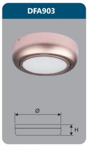 Đèn ốp trần gắn nổi Duhal DFA903 12W