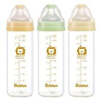 Bộ 3 bình sữa thủy tinh nhẹ Simba P6009 - 260ml