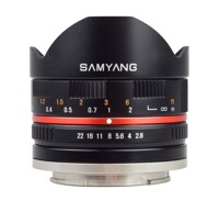 Ống kính Samyang 8mm f/2.8 UMC Fisheye