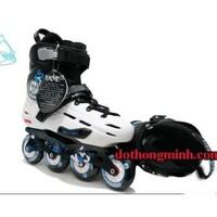 Giầy trượt patin flying eagle x5 xanh - flying eagle x5 xanh