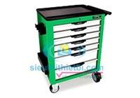 Bộ tủ dụng cụ 7 ngăn màu xanh Toptul GCAJ0056 - 157 chi tiết