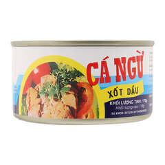 Cá ngừ sốt dầu Vissan hộp 170g