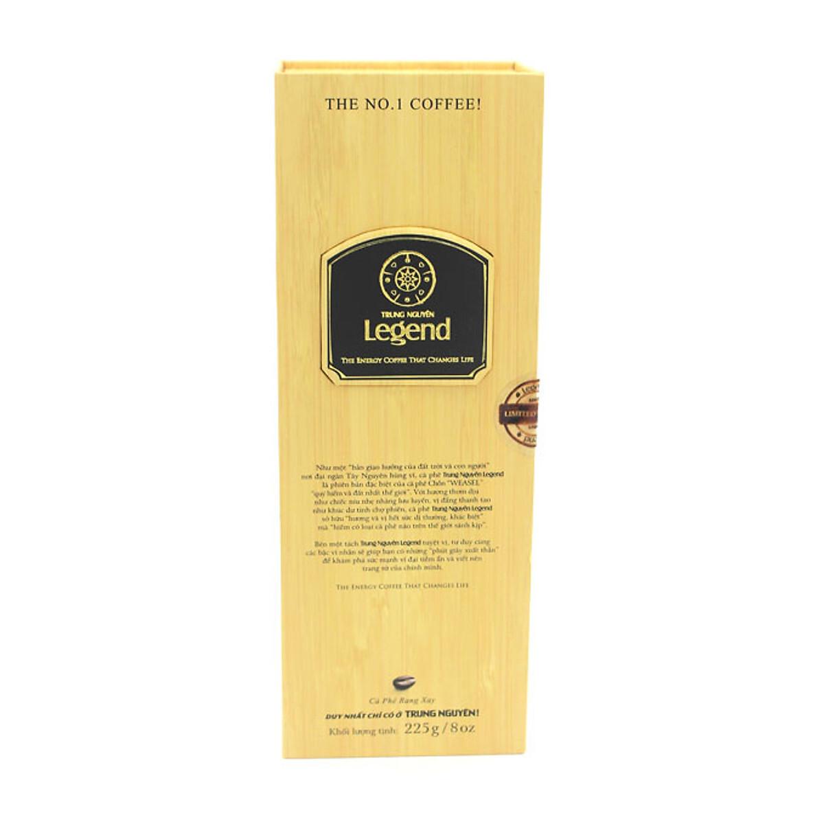 Cà phê chồn Trung Nguyên Legend 225g