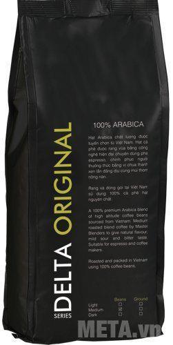 Cà phê hạt Delta Original 1000g