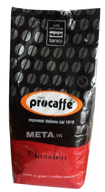 Cà phê hạt Procaffe Classico 1000g