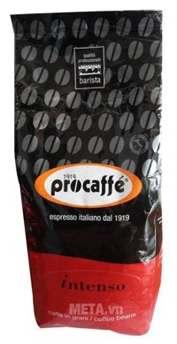 Cà phê hạt Procaffe Intenso 1000g