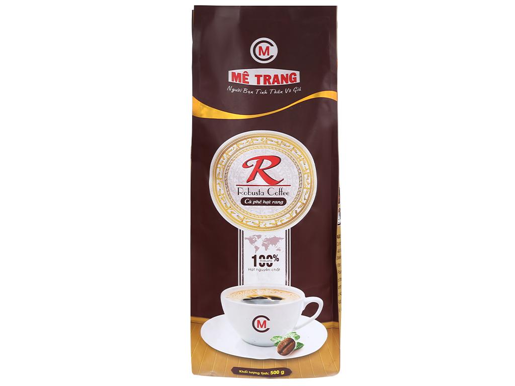 Cà phê nguyên hạt Mê Trang Robusta 500g
