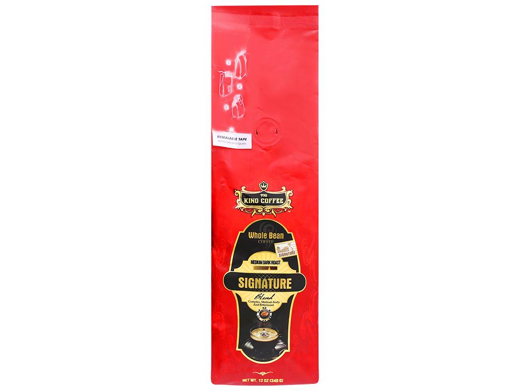 Cà phê nguyên hạt TNI King Coffee Signature Blend – 340g