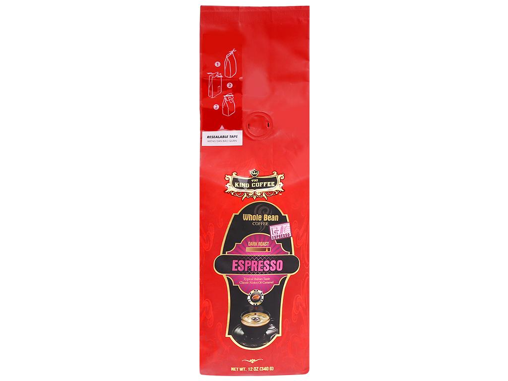 Cà phê nguyên hạt TNI King Coffee Espresso – 340g