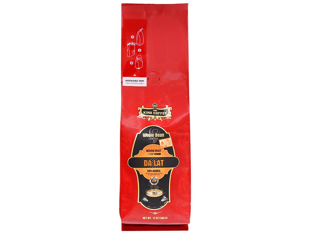 Cà phê nguyên hạt TNI King Coffee Đà Lạt – 340g
