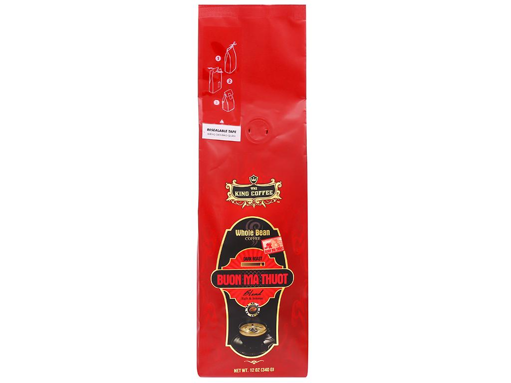 Cà phê nguyên hạt TNI King Coffee Buôn Ma Thuột – 340g