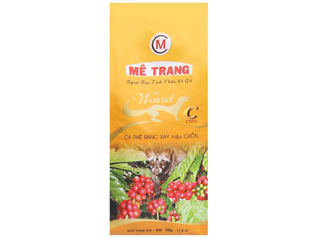 Cà phê rang xay Mê Trang chồn 500g