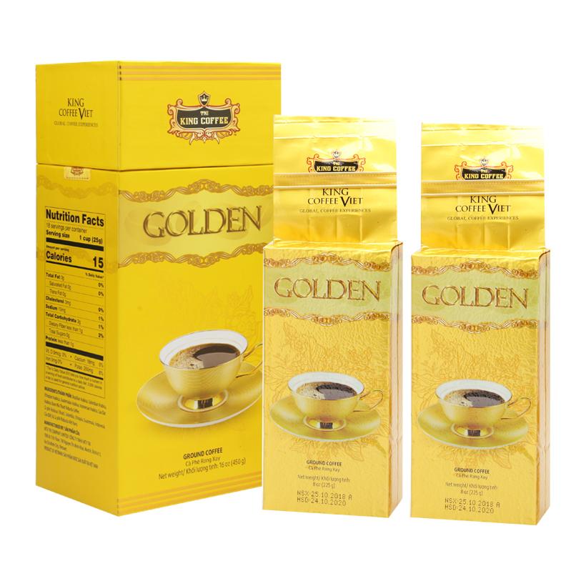 Cà phê TNI King Coffee Golden – 450g