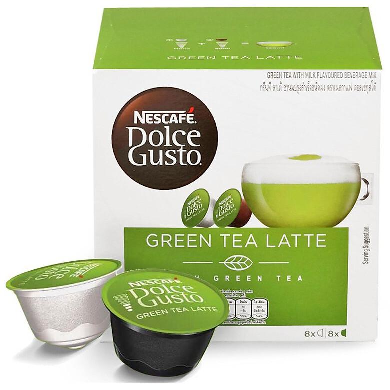 Cà phê viên nén NesCafe Dolce Gusto Green Tea Latte 160g