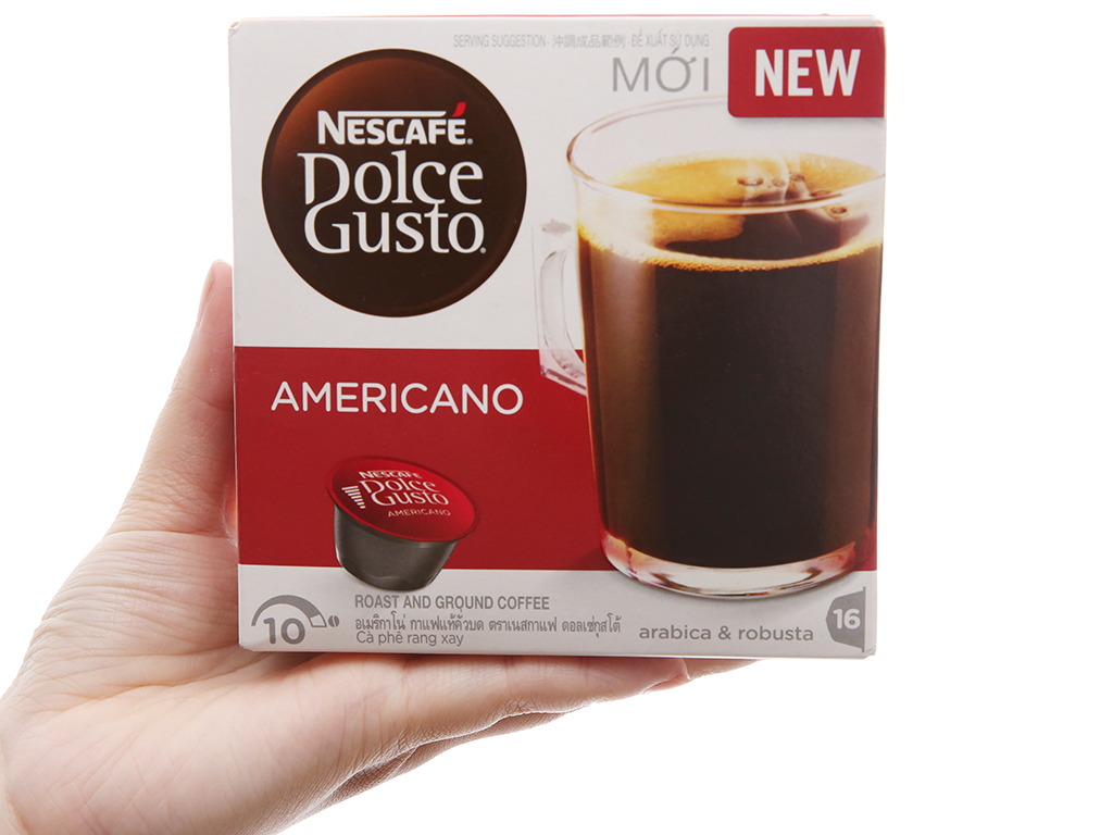 Cà phê viên nén NesCafe Dolce Gusto Americano 128g – 16 viên