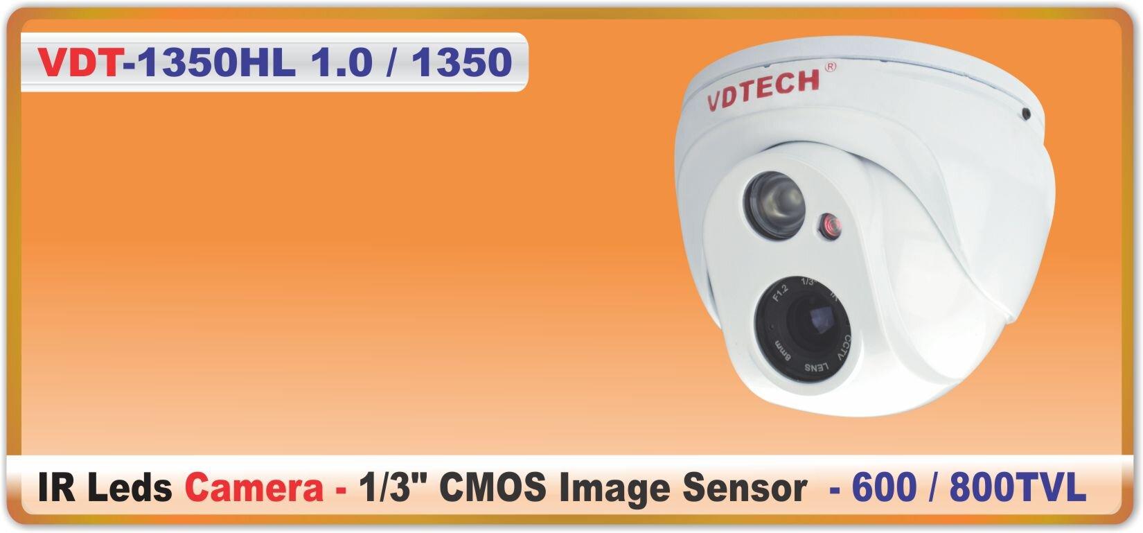 Camera dome VDTech VDT-1350 - hồng ngoại