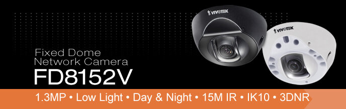 Camera IP Dome hồng ngoại Vivotek FD8152V