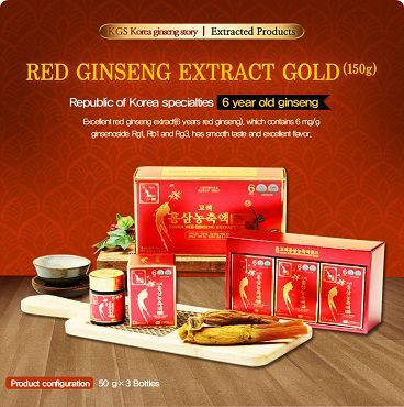 Cao Hồng Sâm Korean Red Ginseng Extract Gold KGS 240g