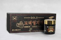 Cao Linh Chi Núi Hộp Gỗ Đen Korean Longevity Mushroom Extract Gold - 120g x 3 lọ