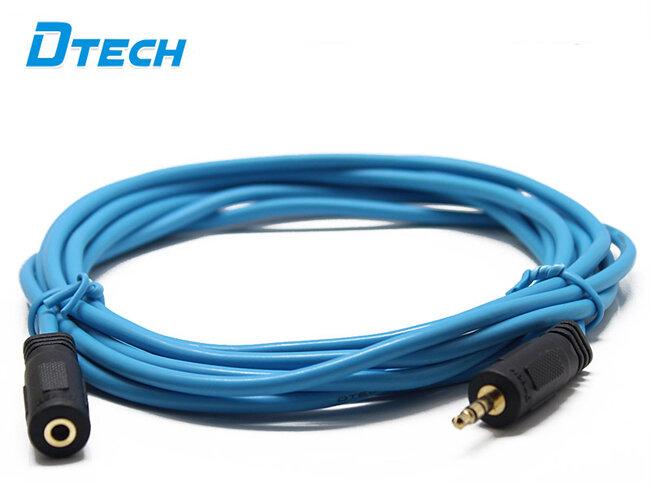 Cáp Audio 3.5mm nối dài 3m Dtech DT-6216