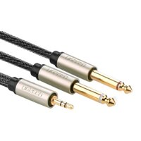 Cáp Audio 3.5mm to 2 x 6.5mm Ugreen 10623 15M