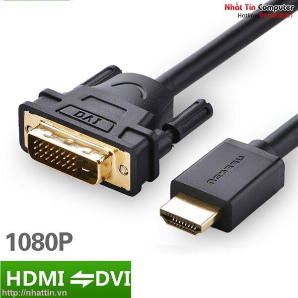 Cáp chuyển đổi HDMI to DVI 10m HD106 chính hãng Ugreen UG-10138 Cao cấp