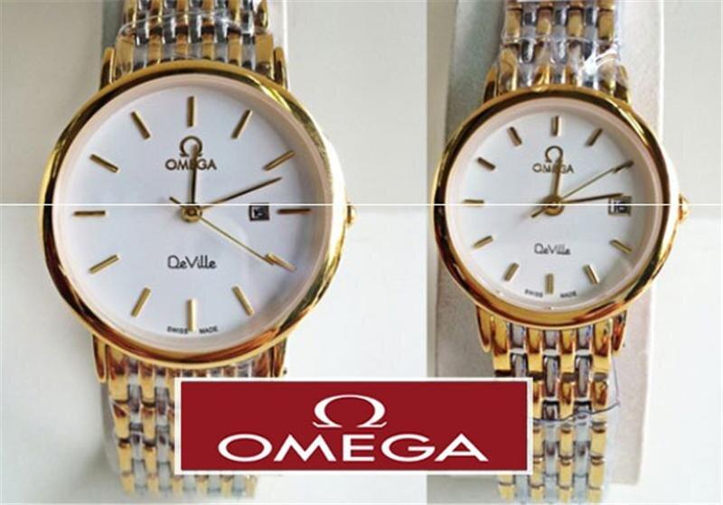 Cặp đôi Nam & Nữ - Đồng hồ Omega Deville OM99