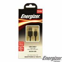 Cáp Energizer Micro USB C12UBMCBBK4 20cm