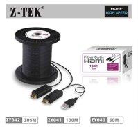 Cáp HDMI 100m Z-TEK ZY-041 : dây HDMI quang học
