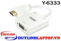Cáp HDMI to VGA + Audio Unitek Y-6333