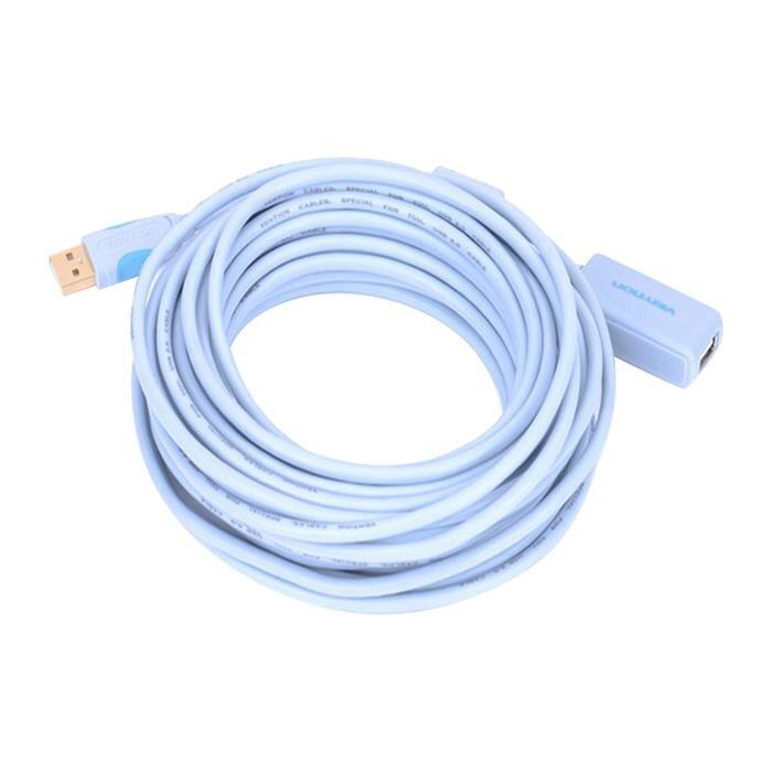 Cáp nối dài USB 2.0 có chíp khuếch đại tín hiệu VAS-C01-S1000 10m