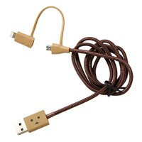 Cáp Sạc Cheero 2 in 1 Lightning Và Micro USB CHE-226
