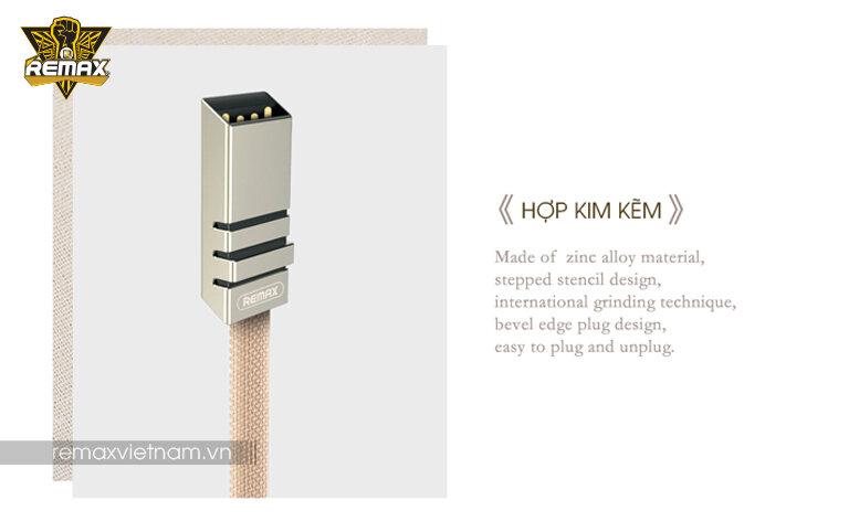 Cáp sạc dây dù Micro USB Remax RC-081M