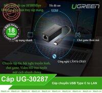 Cáp USB Type C to Lan Ugreen 30287