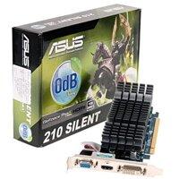 Card đồ họa (VGA Card) Asus EN210 SILENT/DI/512MD2(LP) -  GeForce 210, DDR2, 512MB, 64-bit, PCI E 2.0