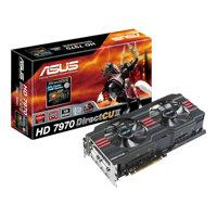 Card đồ họa (VGA Card) Asus HD7970-DC2-3GD5 - ATI RADEON HD7970, GDDR5, 3GB , 384bit, PCI-E 3.0