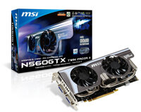 Card đồ họa (VGA Card) MSI N560GTX-Ti Hawk - GeForce GTX 560 Ti, GDDR5, 1GB, 256bits, PCI-E 2.0