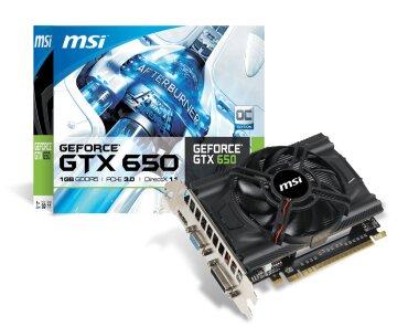 Card đồ họa (VGA Card) MSI N650-2GD5/OC - GeForce GTX650, GDDR5, 2GB, 128 bit, PCI E 3.0