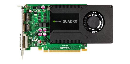 Card đồ họa (VGA Card) nVidia Quadro K2000 - Quadro K2000, 2GB, DDR5,128 Bit, PCI-E