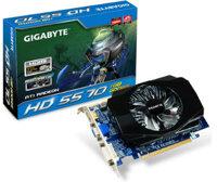Card đồ họa (VGA Card) Gigabyte GV-R557D5 - ATi Radeon HD 5570, GDDR5, 1GB, 128-bit, PCI E 2.1