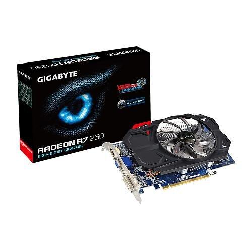 Card đồ họa (VGA Card) Gigabyte GV-R725O5-2GI - Radeon R7 250, 2GB, GDDR5, 128 bit, PCI-E 3.0