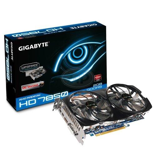 Card đồ họa (VGA Card) Gigabyte GV-R785OC-2GD - Radeon HD7850, GDDR5, 2GB, 256-bit, PCI-E 3.0