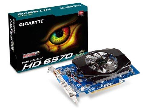 Card đồ họa (VGA Card) Gigabyte GV-R657OC-1GI - AMD Radeon HD6570, GDDR3 1GB, 128 bit, PCI-E 2.1