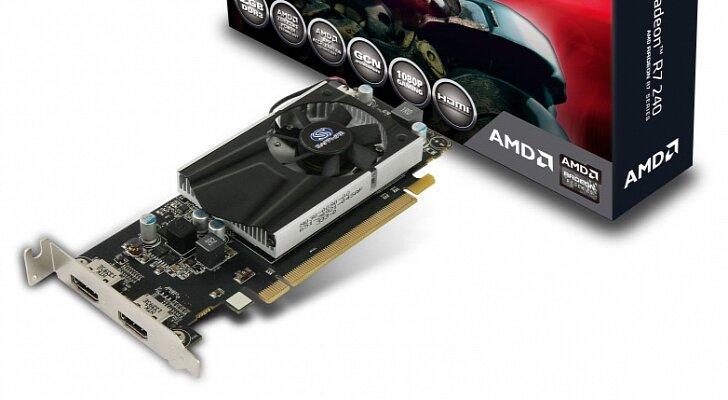 Card đồ họa (VGA Card) Sapphire R7 240 2GB DDR3 - Radeon R7 240, 2GB, DDR3, 128Bit, PCI-E