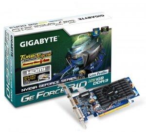 Card đồ họa (VGA Card) Gigabyte GV-N210TC - GeForce 210, 1GB, DDR3, 64 bit, PCI-E 2.0