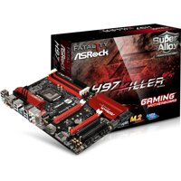 Card màn hình Asrock H97 Killer - Chipset Intel H97, Socket LGA1150, VGA onboard