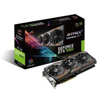 Card màn hình Asus 6GB Strix GTX1060-O6G-Gaming - NVIDIA Geforce, 6GB RAM , DDR5, 192Bit