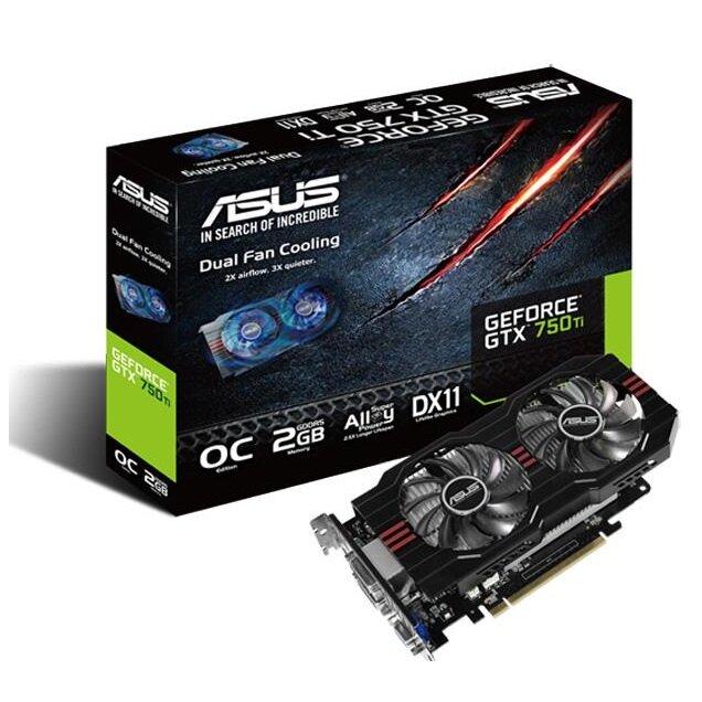 Card màn hình Asus GTX750TI-OC-2GD5