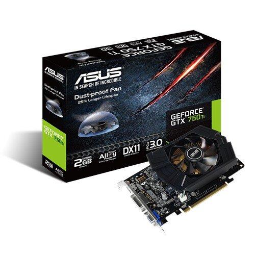 Card Màn Hình Asus GTX750TI-PH-2GD5  - Geforce GTX750, 2GB DDR5